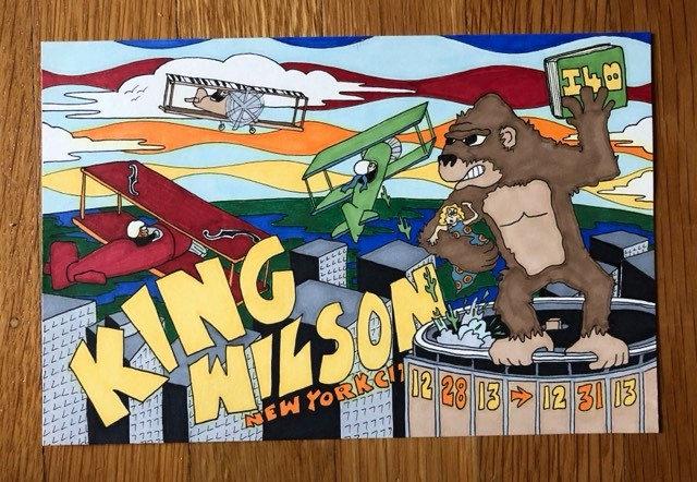 ORIGINAL ART: king wilson 2013