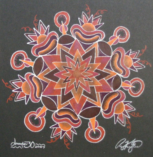 mandala series 12/30/07