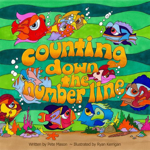 COUNTING DOWN THE NUMBER LINE BOOK