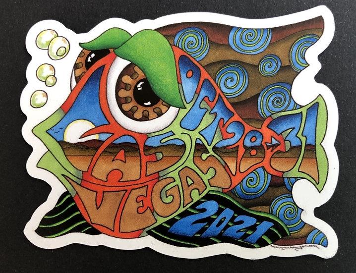 2021 las vegas happy fish magnet