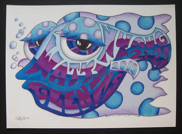 2015 watkins happy fish poster