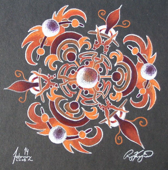 mandala series 2/14/08