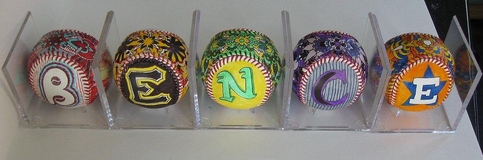 bence's baseballs!