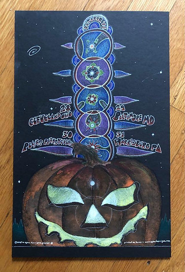 ORIGINAL ART: lotus halloween run 2005