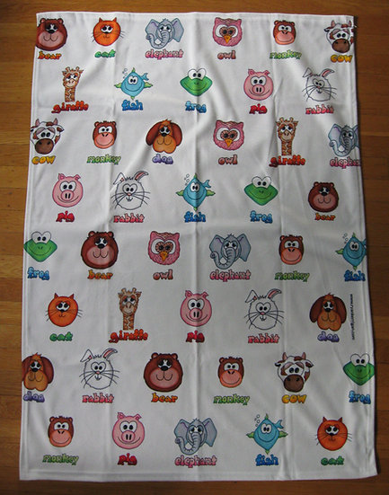 "fleece ""buddies"" blanket"