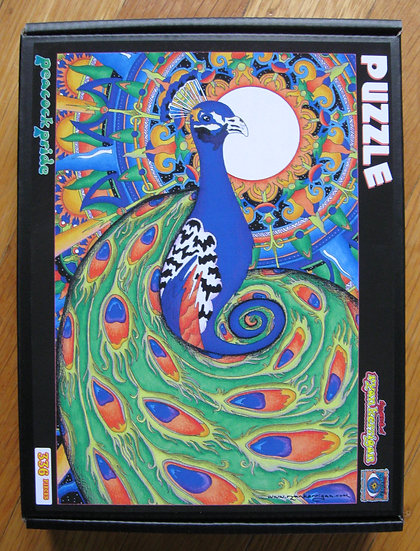 peacock pride puzzle