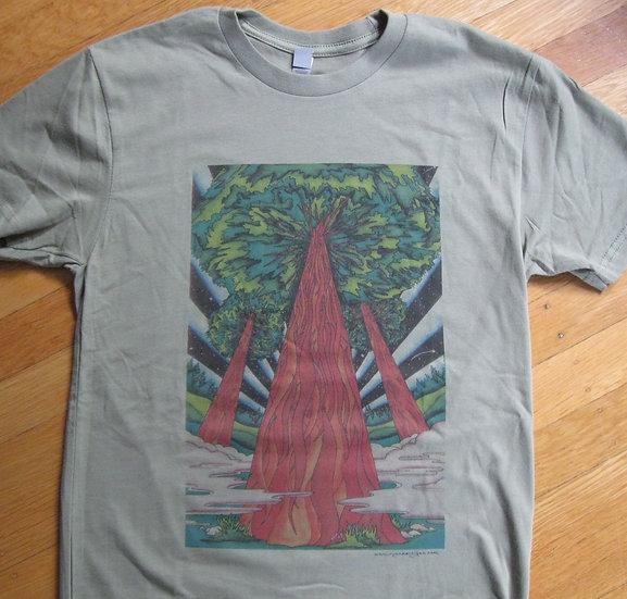 three redwoods shirt