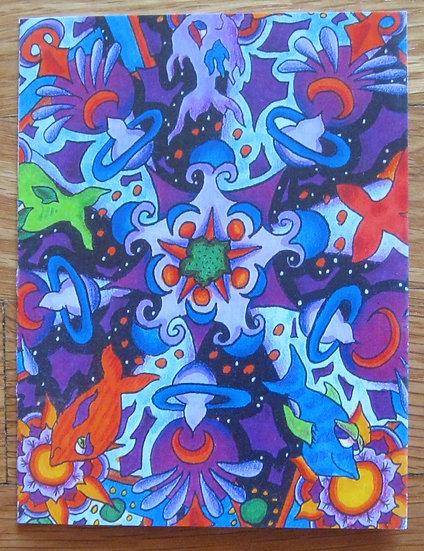 greeting card ~ fish mandala