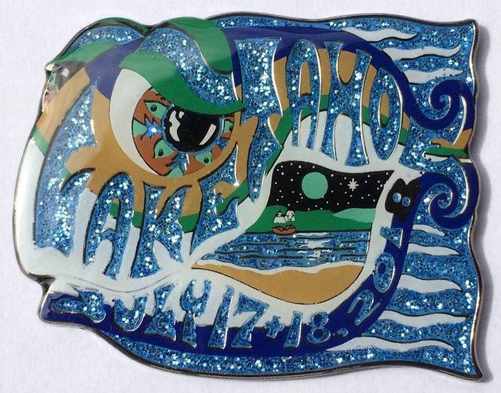 2018 lake tahoe happy fish pin