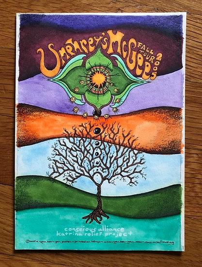 ORIGINAL ART: umphreys mcgee fall tour 2005