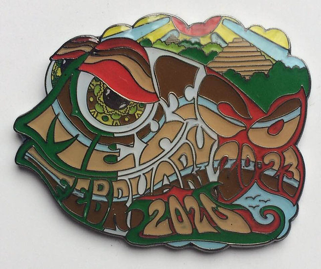 2020 mexico happy fish pin