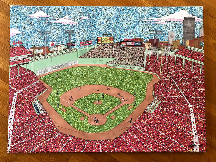 FENWAY canvas print and poster