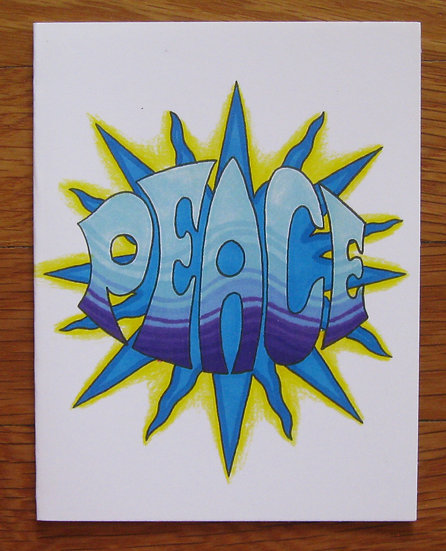 greeting card ~ peace