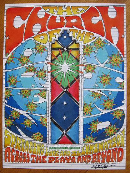 church of the open mind poster (2018)