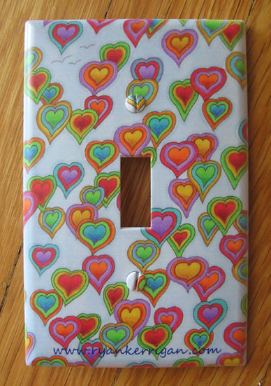 heartsky light switch cover