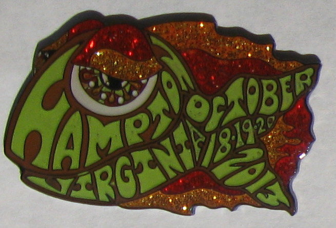 2013 hampton happy fish pin