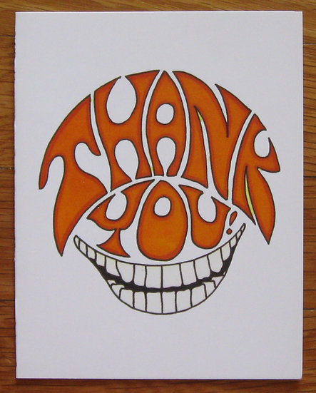 greeting card ~ thank you smile