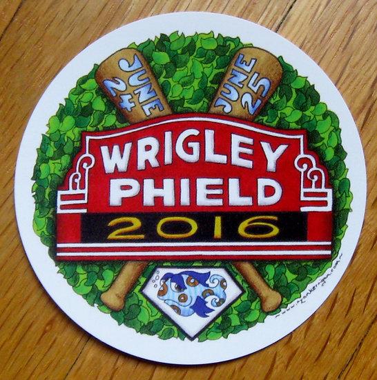 wrigley phield sticker