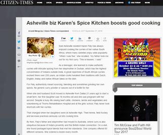Asheville Biz Good Cooking