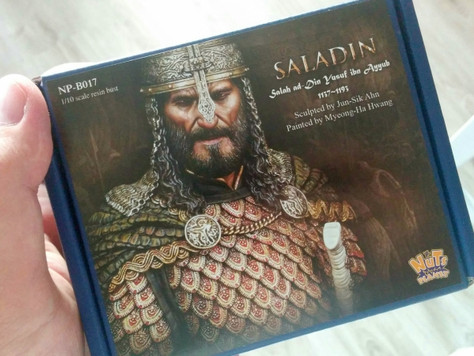 [Step by Step] Saladin by Michal (English & Polish)