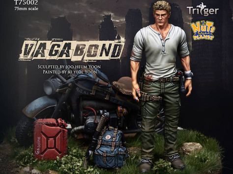 [Open-box Review]Nuts Planet 75mm Vagabond Resin Figure by Martin