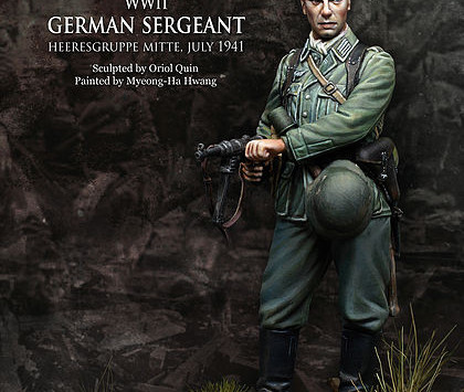 [Open-Box Review] WW2 German Sgt by Kevin