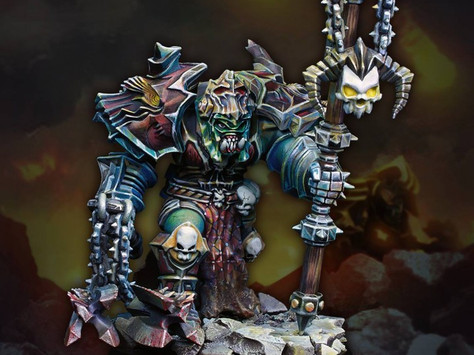 [Open-box review]Nuts Planet 70mm Grimnord 'Warlord of Mad Thunder Clan' by Martin