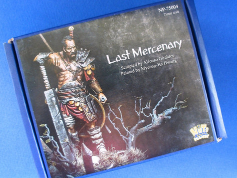 [OPEN BOX review] Last Mercenary by Mrtin