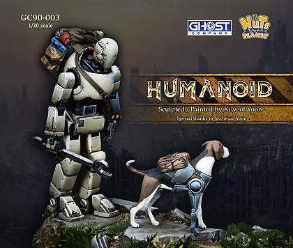 [Open-box Review] Humanoid with dog by Kevin