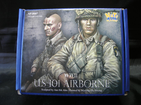 [Open-box review] WW2 101st Airborne Bust from Nuts Planet by Kevin