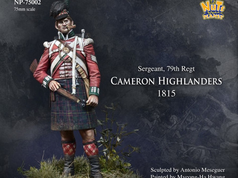 [Open box] Cameron Highlander in 75mm from Nuts Planet by Kevin
