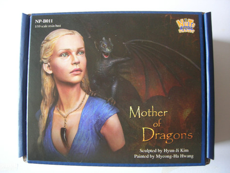 """[Open-box review] """"Mother of Dragons"""" Bust from Nuts Planet by Kevin"""
