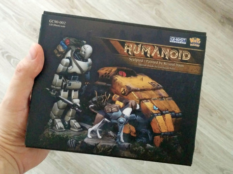 "[Step by Step] ""HUMANOID"" (part 1 - assembling) by Michal"