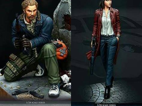 [Open-Box Review] Rifleman Jess and Secret Agent Aida by Jason Martin