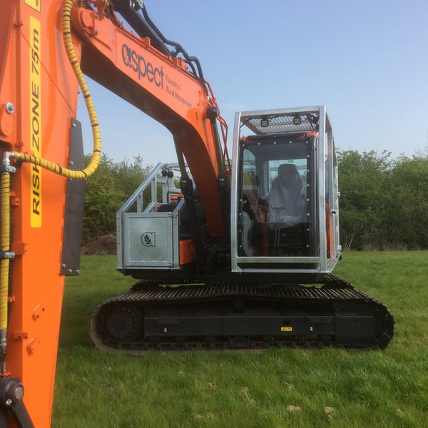 Forestry Digger Cage 2