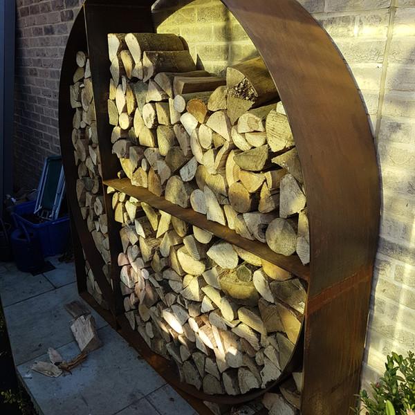 Corten Log Store