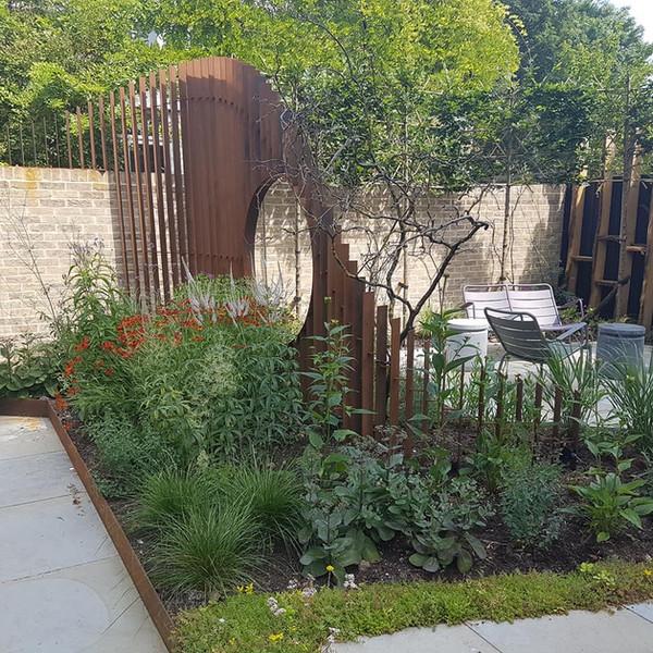 Corten Garden Feature