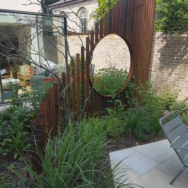 Corten Garden Feature 2