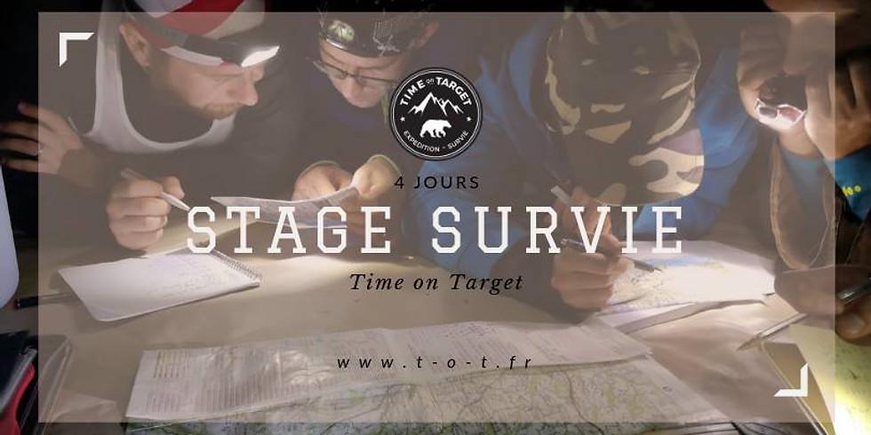 Stage de survie 4 jours 3 au 6 octobre 2019