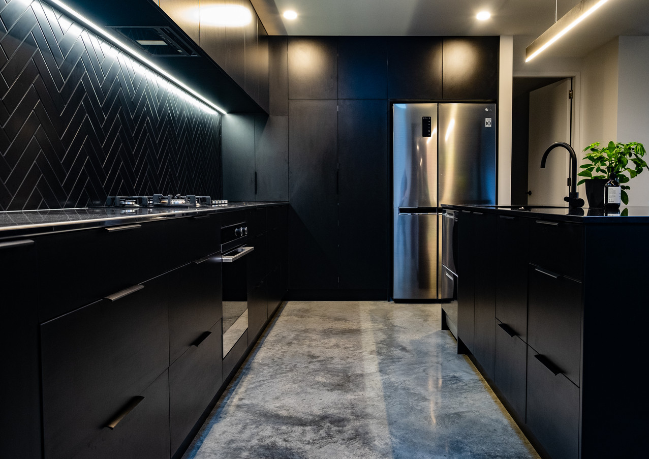 Kitchen cabinetry and storage solutions