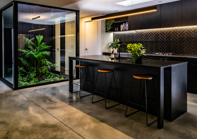 Sleek new kitchen design