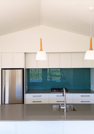 Stylish kitchen in new home build Taranaki