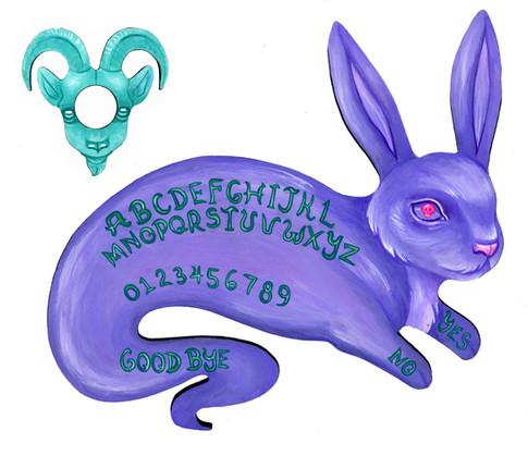 Ghost Bunny Ouija