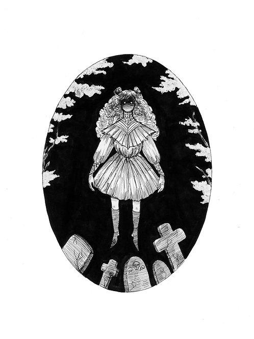Original Graveyard Girl piece