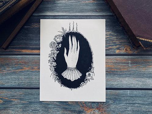 Original Haunted Hand piece