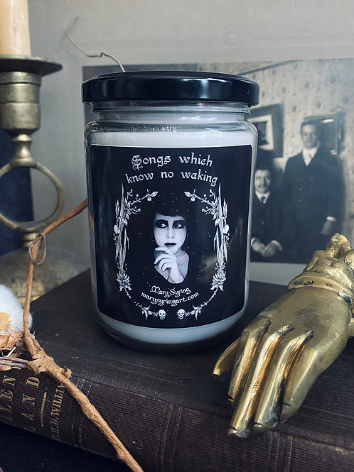 Songs which know no waking Candle