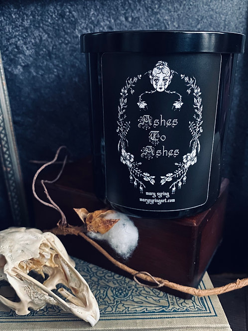 Ashes to Ashes Candle