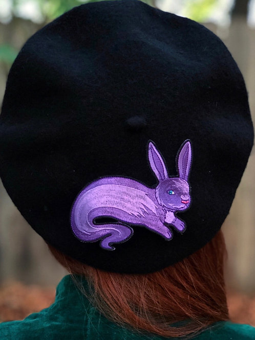 Pre-order Ghost Bunny Patch Beret