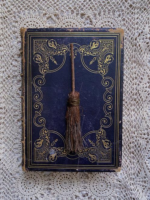 """Post Mortem"" mini wall broom"