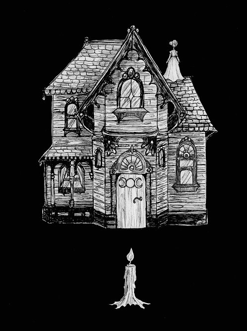 "5x7 ""Witch haus"""